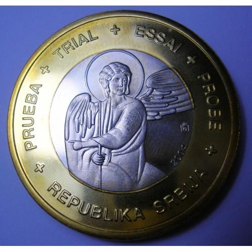 SERBIA 1 Euro 2004...