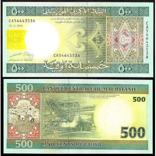 MAURITANIA 500 Ouguiya 2004