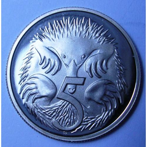 AUSTRALIA 5 Cents 1990 PROOF