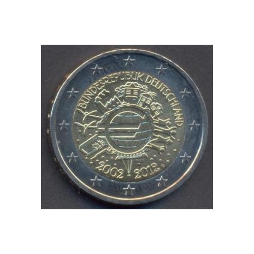 GERMANY 2 Euro 2012 D 10Th...