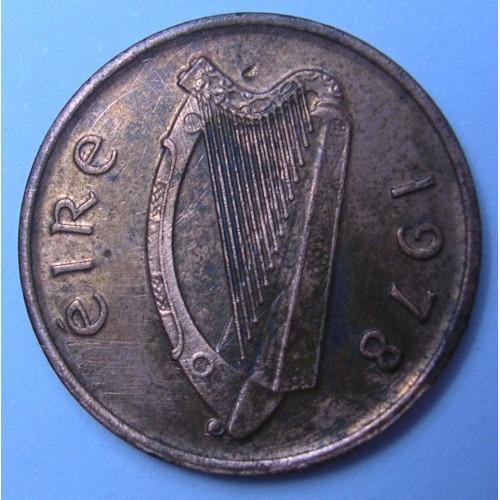 IRELAND 1/2 Penny 1978