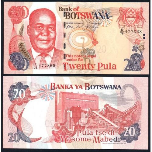 BOTSWANA 20 Pula 2006