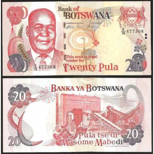 BOTSWANA 20 Pula 2004