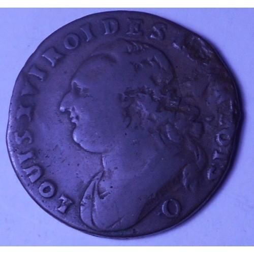 FRANCE 12 Deniers 1792 Q...