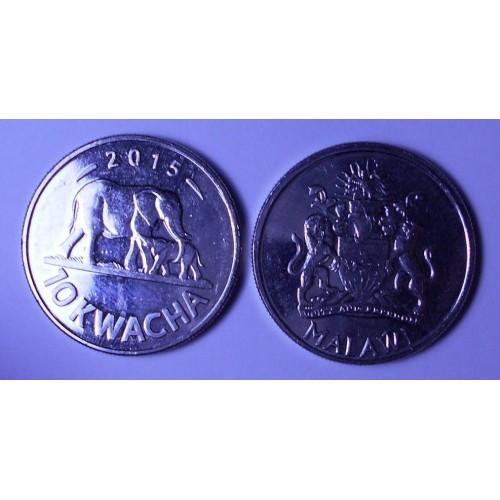 MALAWI 10 Kwacha 2015