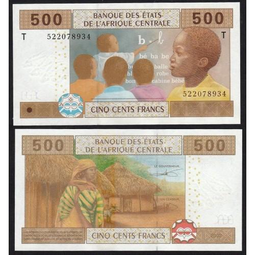 CONGO (C. A. S.) 500 Francs...