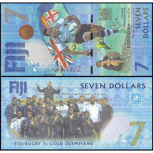 FIJI 7 Dollars 2016...
