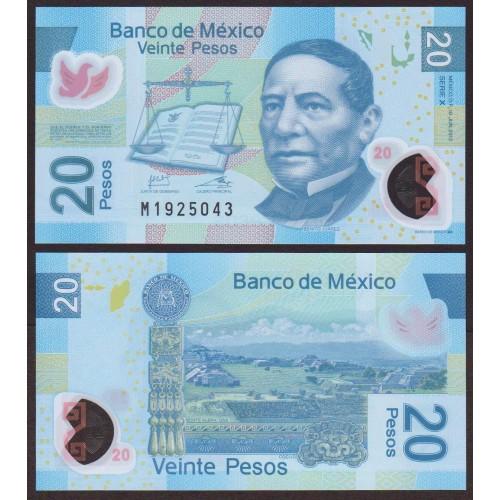 MEXICO 20 Pesos 2013 Serie...