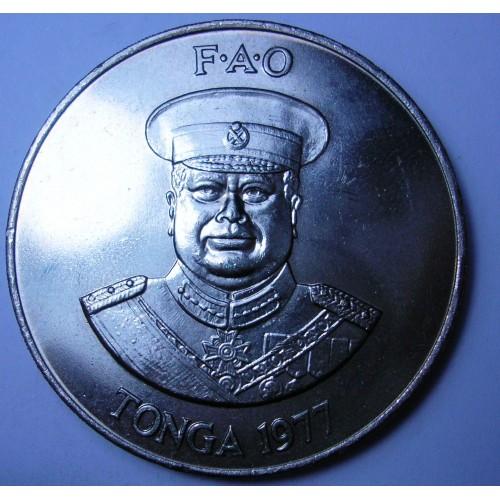 TONGA 2 Pa'anga 1977 FAO