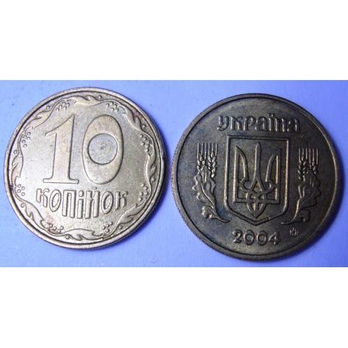 UKRAINE 10 Kopiyok 2004