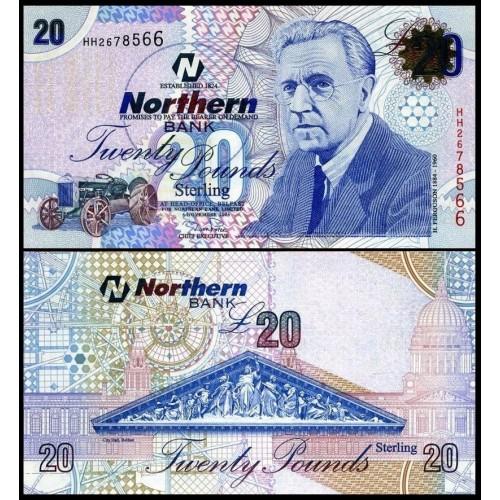 IRELAND NORTHERN 20 Pounds...