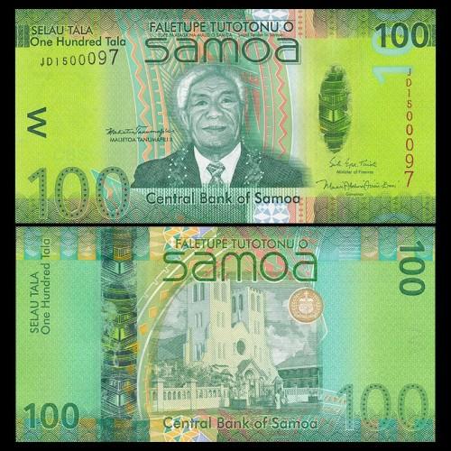 WESTERN SAMOA 100 Tala 2017...