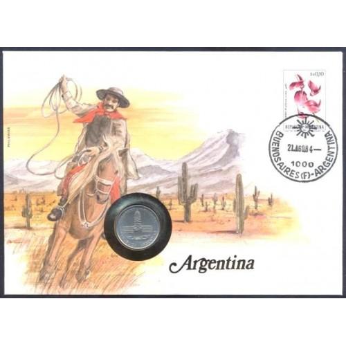 NUMISBRIEF Argentina 1 Peso...