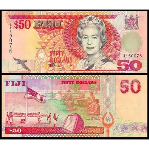 FIJI 50 Dollars 1996