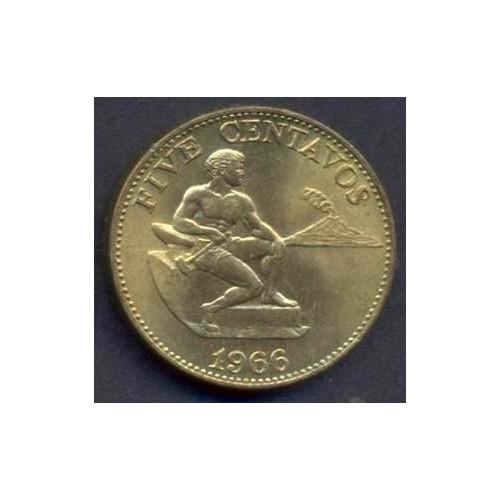 PHILIPPINES 5 Centavos 1966
