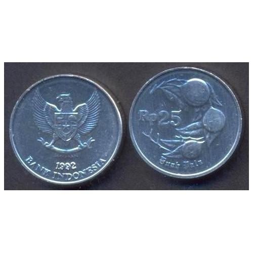 INDONESIA 25 Rupiah 1992