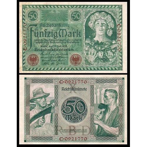 GERMANY 50 Mark 1920