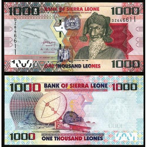 SIERRA LEONE 1000 Leones 2013