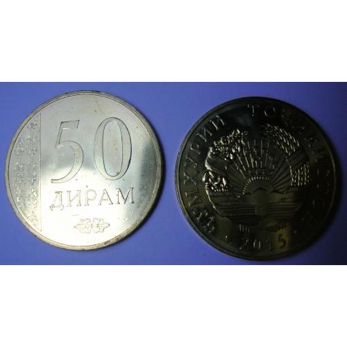TAJIKISTAN 50 Drams 2015