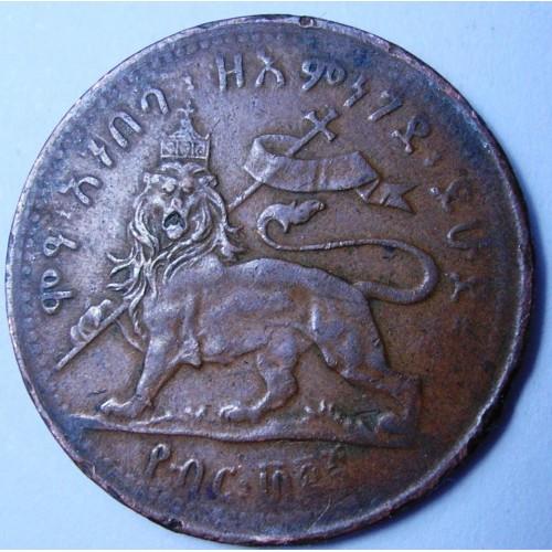 ETHIOPIA 1/32 Birr EE1889...