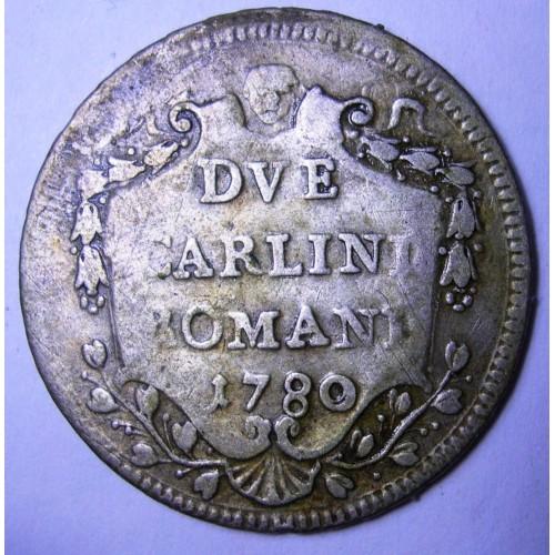 PIO VI 2 Carlini Romani...