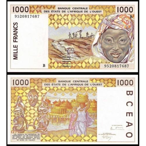 BENIN (W.A.S.) 1000 Francs...