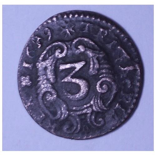 CARLO II 3 Piccioli 1699