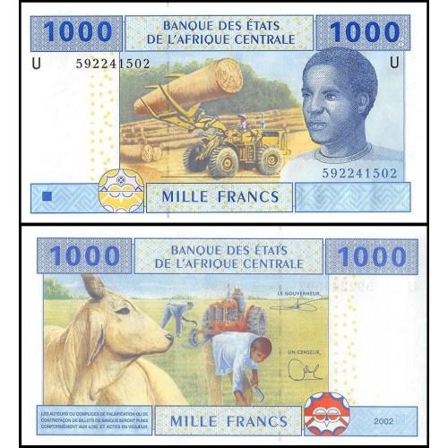 CAMEROUN (C.A.S.) 1000...