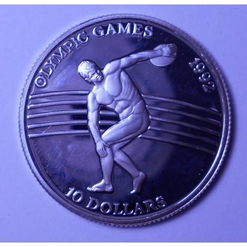 NIUE 10 Dollars 1991 Discus...