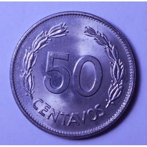 ECUADOR 50 Centavos 1977