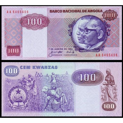 ANGOLA 100 Kwanzas 1984