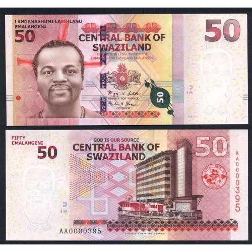 SWAZILAND 50 Emalangeni 2010