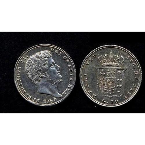 FERDINANDO II TARI' 1855 AG