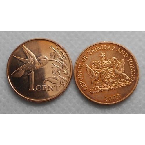 TRINIDAD & TOBAGO 1 Cent 2005