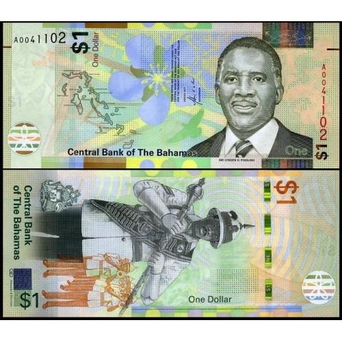 BAHAMAS 1 Dollar 2017