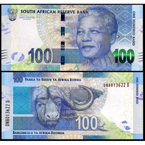 SOUTH AFRICA 100 Rand 2014