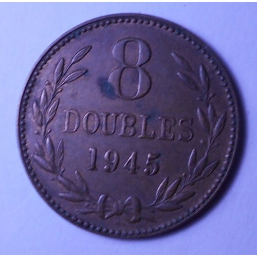 GUERNSEY 8 Doubles 1945