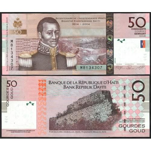 HAITI 50 Gourdes 2010