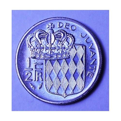 MONACO 1/2 Franc 1979...