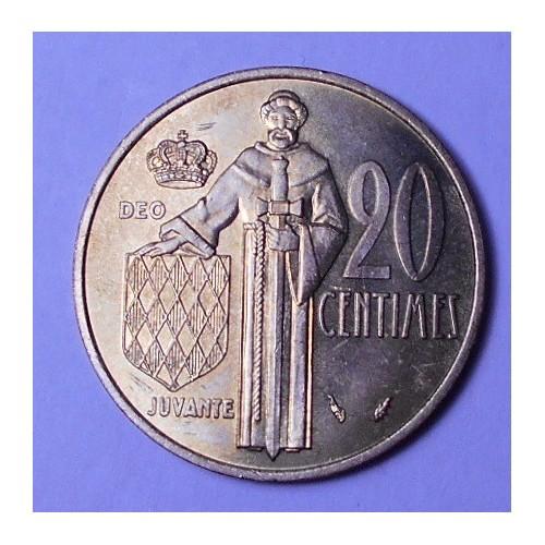 MONACO 20 Centimes 1979