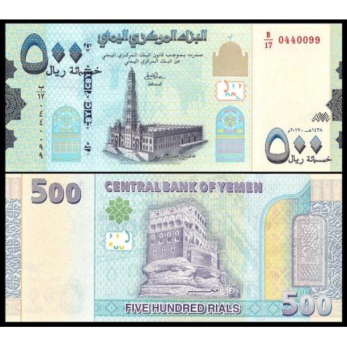 YEMEN ARAB REPUBLIC 500...