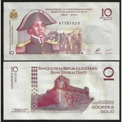 HAITI 10 Gourdes 2006