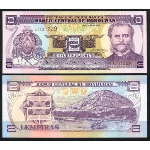 HONDURAS 2 Lempiras 2006