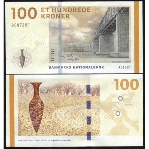 DENMARK 100 Kroner 2010 (2009)