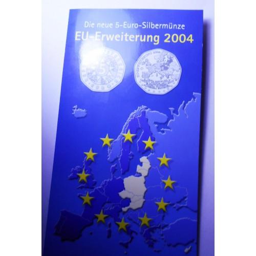 AUSTRIA 5 Euro 2004 AG...