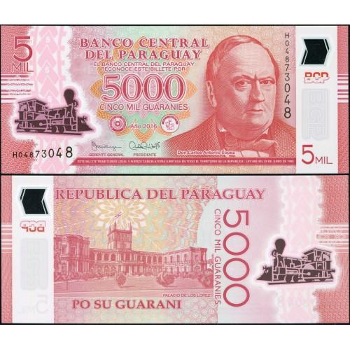 PARAGUAY 5000 Guaranies...