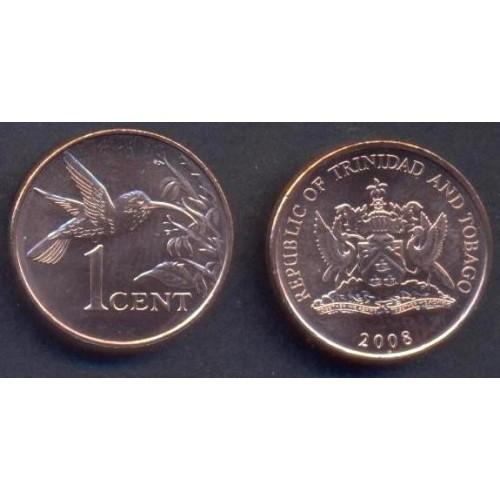 TRINIDAD & TOBAGO 1 Cent 2008