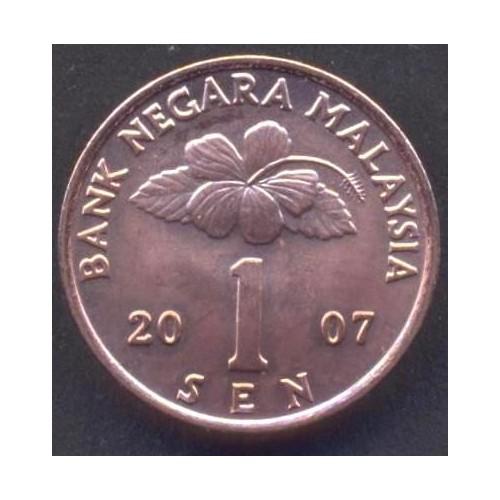 MALAYSIA 1 Sen 2007