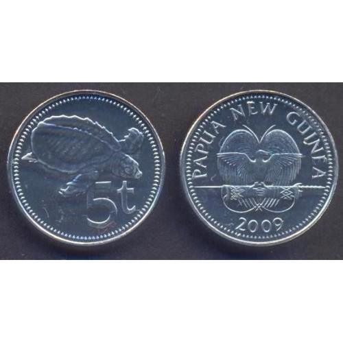 PAPUA NEW GUINEA 5 Toea 2009