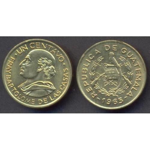 GUATEMALA 1 Centavo 1965